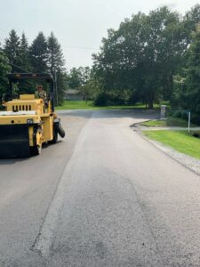 paving on St. Lawrence Court