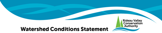Rideau valley conservation authority watershed conditions statement logo