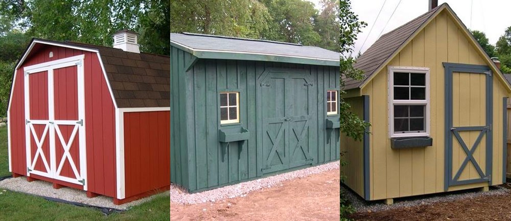 3 portable sheds