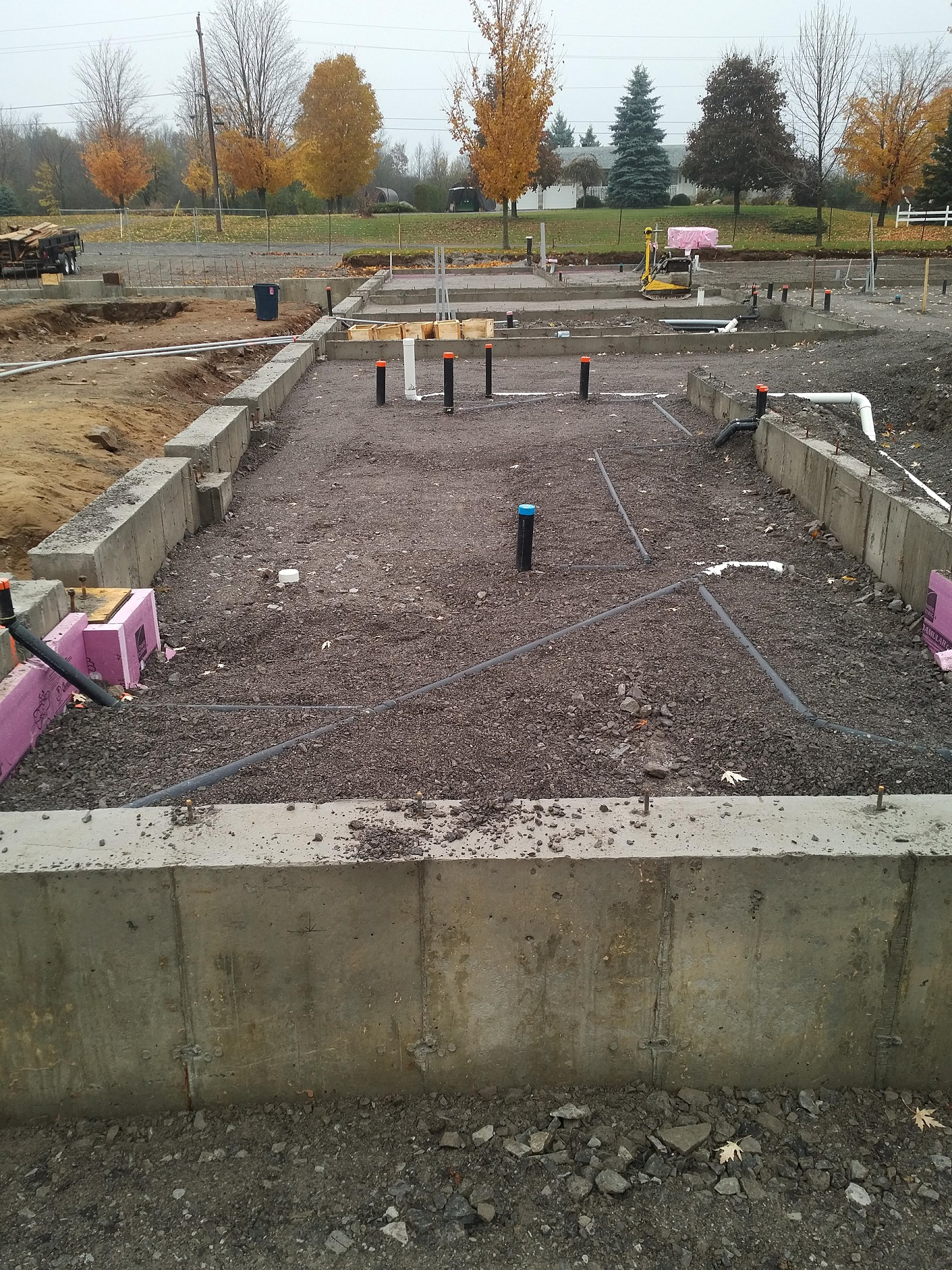 overview of utility piping installation