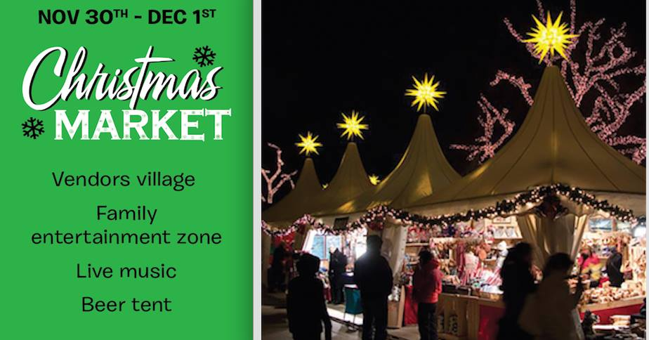 Brockville Christmas Market @ Railway Tunnel/Tunnel Plaza | Brockville | Ontario | Canada