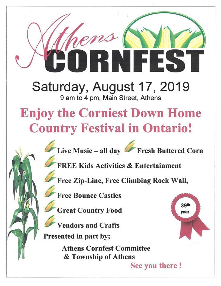 Athens Cornfest @ Athens  | Athens | Ontario | Canada