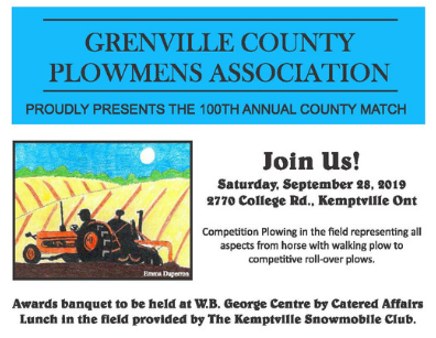 Grenville County Plowing Match @ Kemptville College | Kemptville | Ontario | Canada