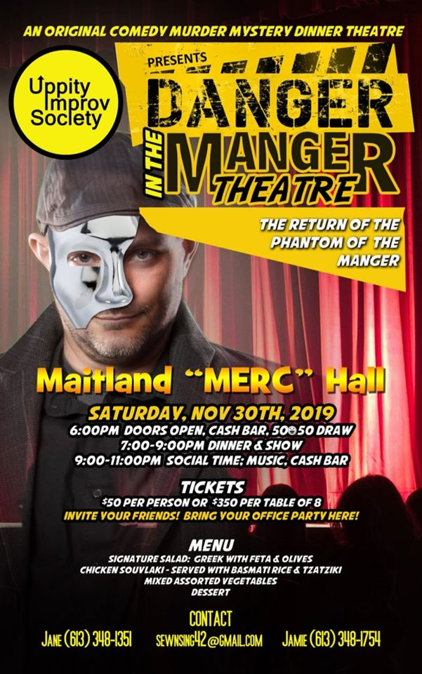 Murder Mystery Dinner @ MERC @ Maitland Education & Recreation Centre | Brockville | Ontario | Canada