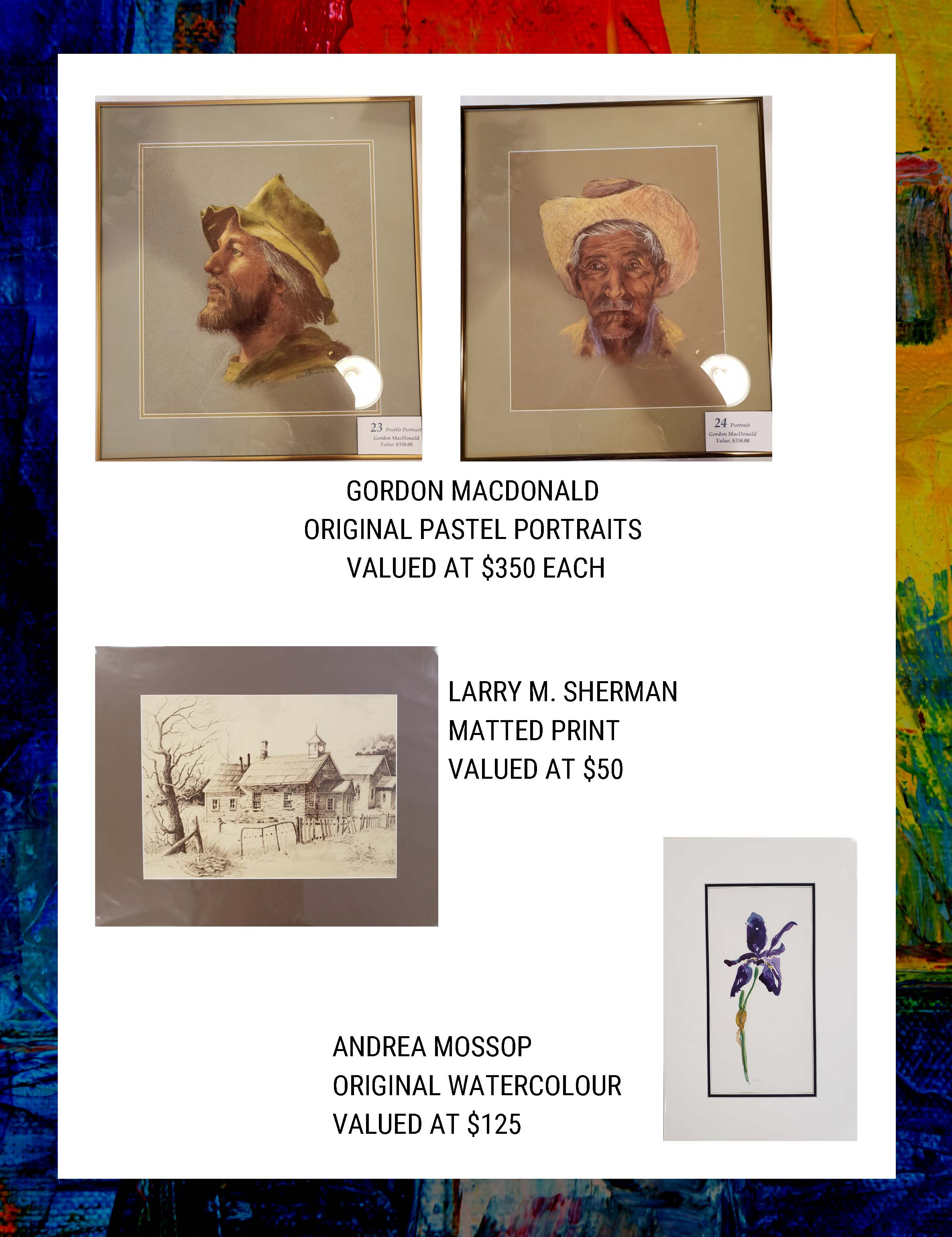 Silent Art Auction at the Township Library @ Augusta Township Public Library | Brockville | Ontario | Canada