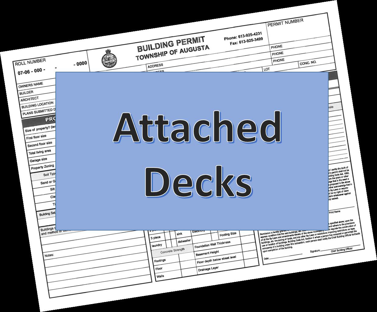 attached decks