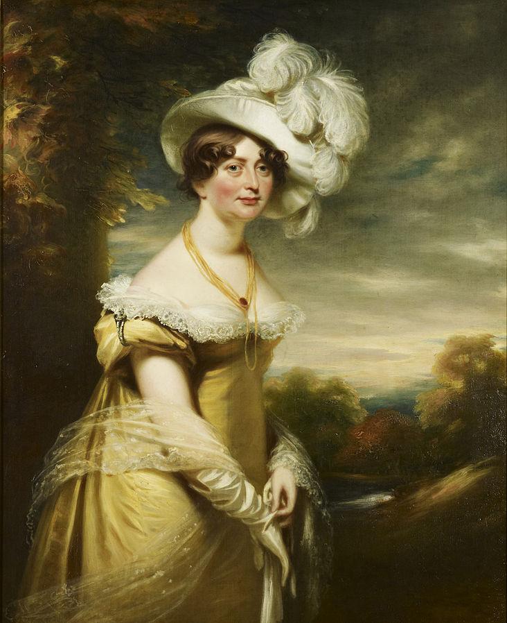 painting of princess augusta