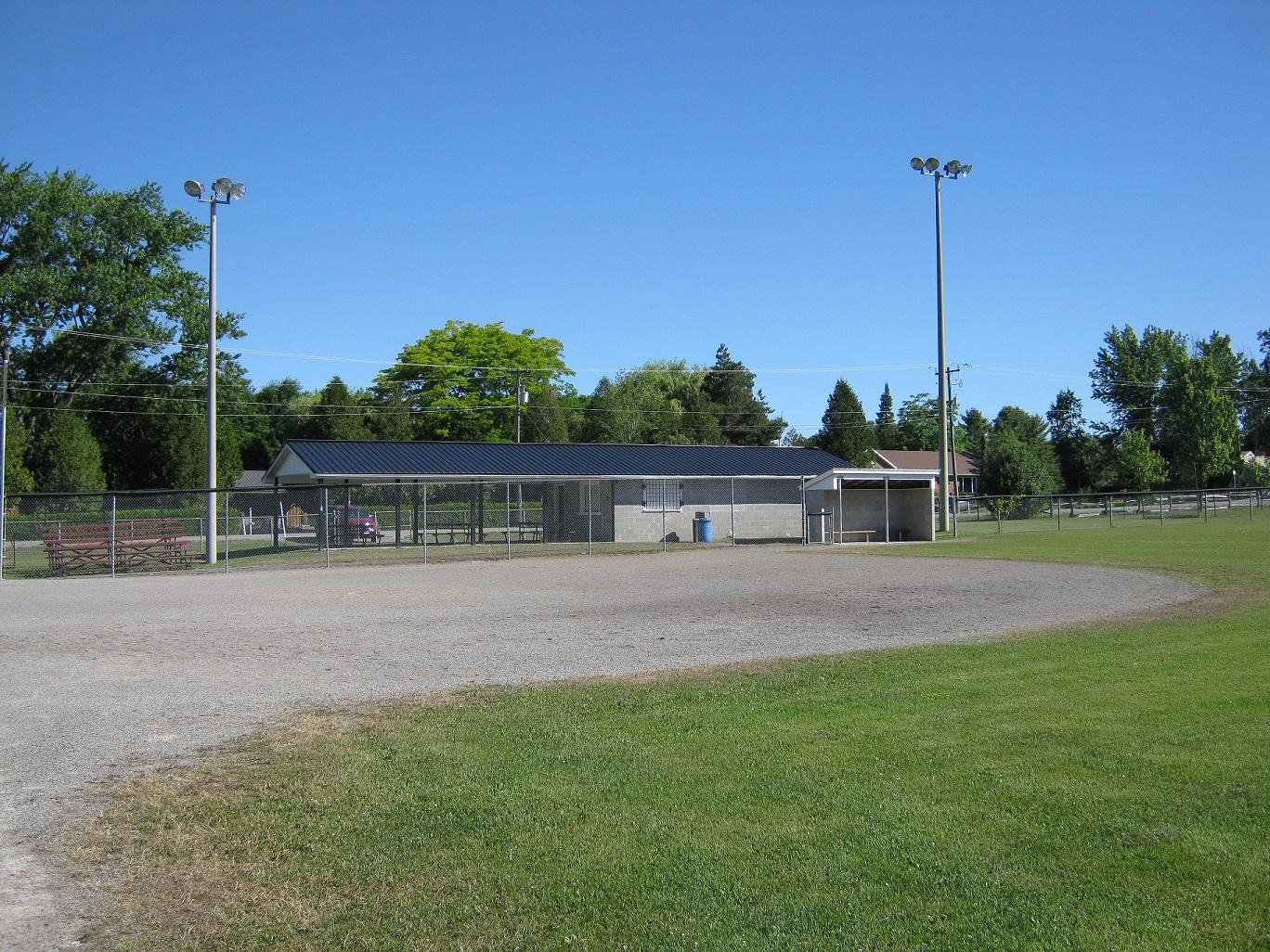 domville ball diamond facilities