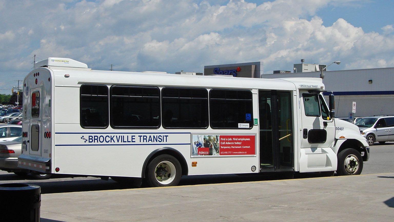 brockville transit bus