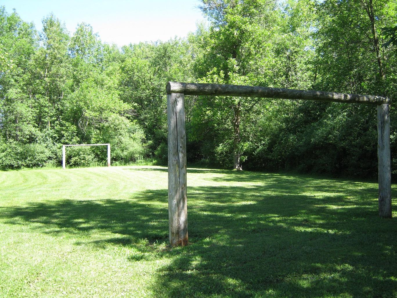 soccer posts at cedar park