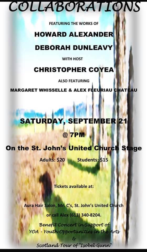 Collaborations @ St. John's United Church | Brockville | Ontario | Canada