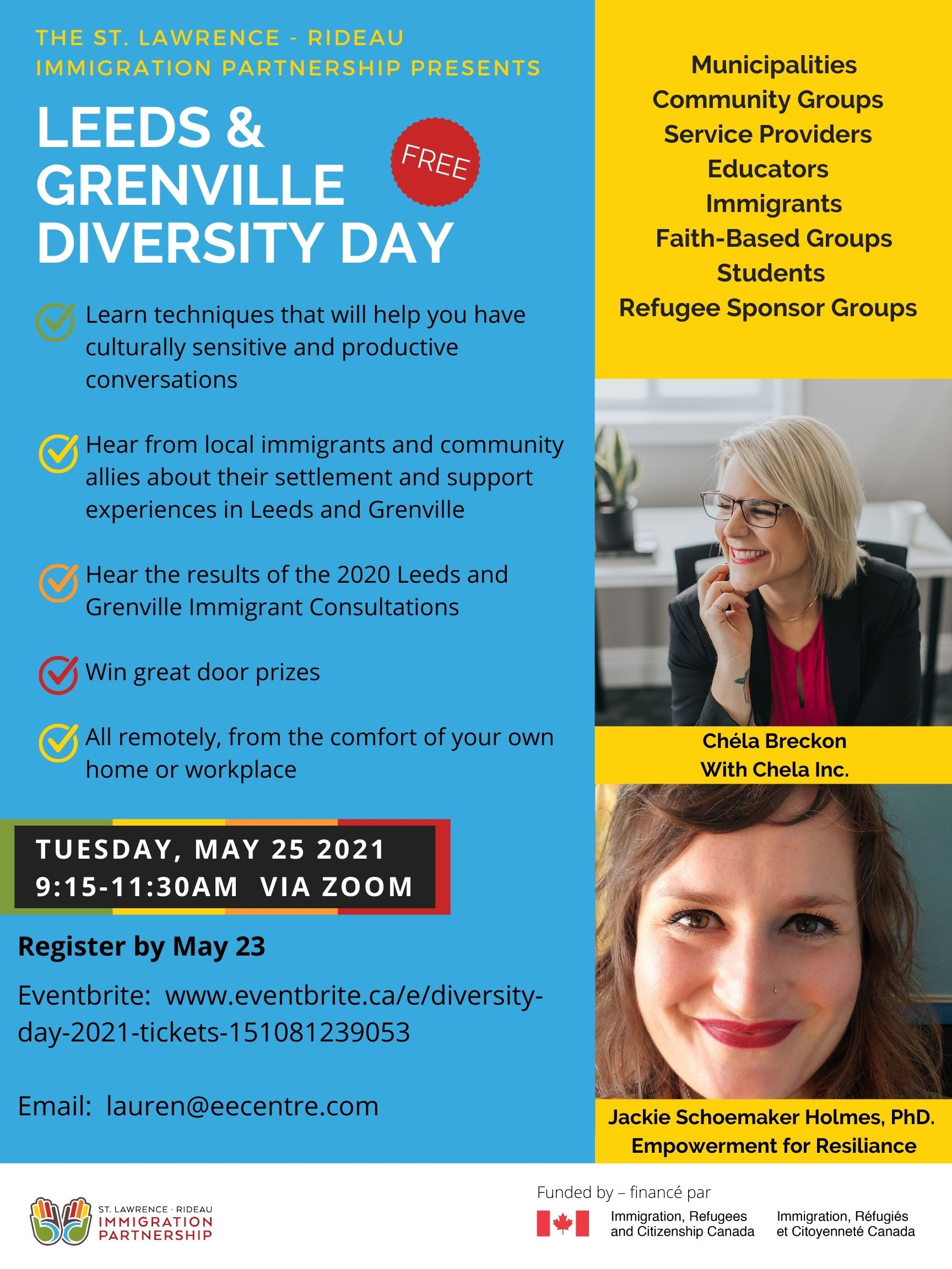 poster advertising diversity day