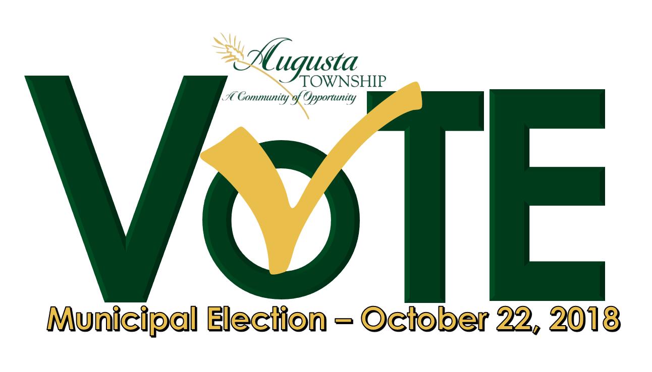 augusta municipal election vote logo
