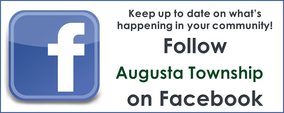 Follow Augusta Township on Facebook
