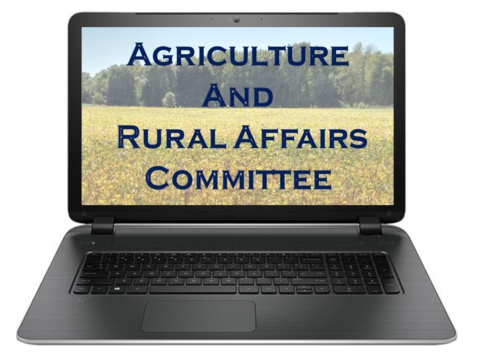 Agriculture and Rural Affairs Committee Meeting @ Electronic Meeting - If you wish to be invited to listen to the Committee Meeting live, please email mbelej@augusta.ca at least one hour before the start of the meeting.