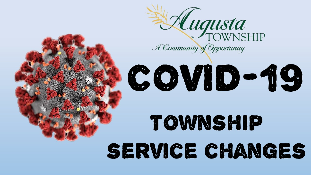photos says covid-19 township service changes