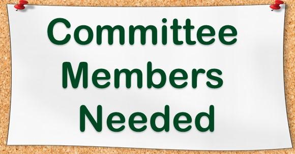 says committee members needed