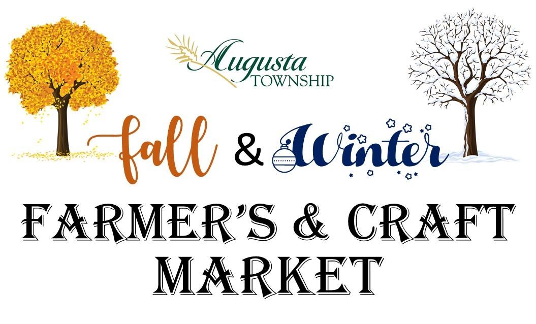augusta township fall & winter farmer's & craft market logo