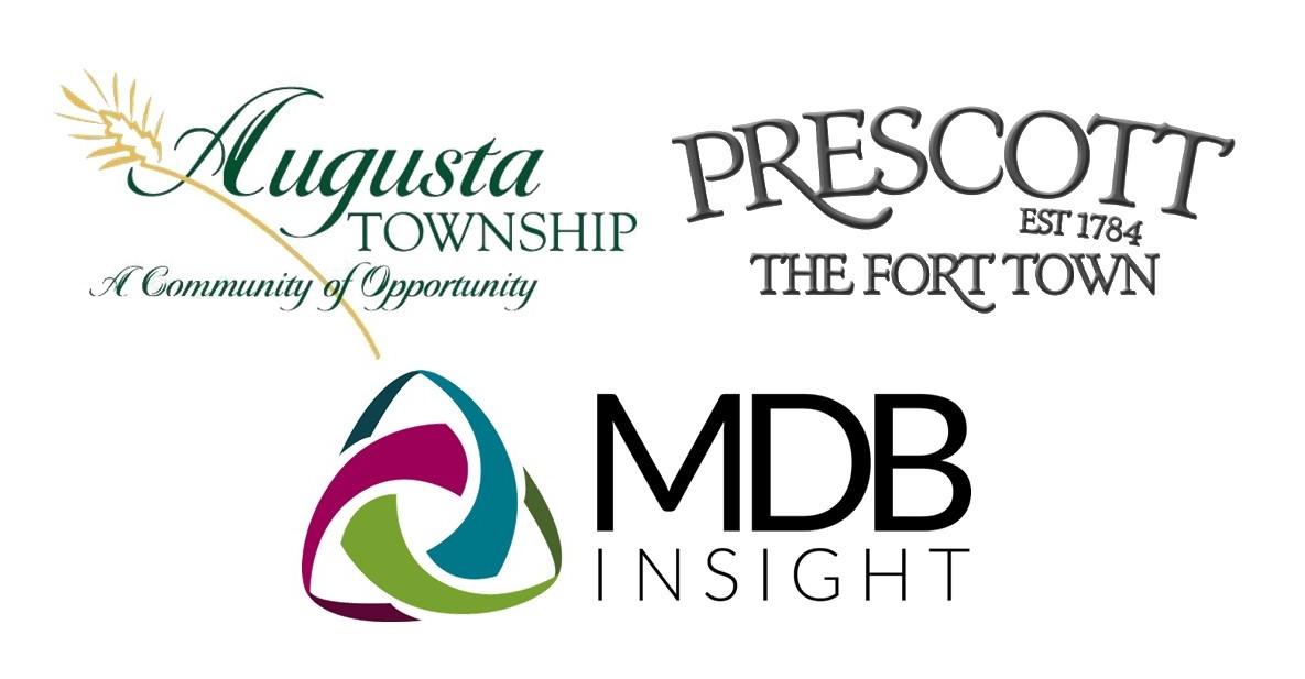 augusta, prescott and mdb insight's logos