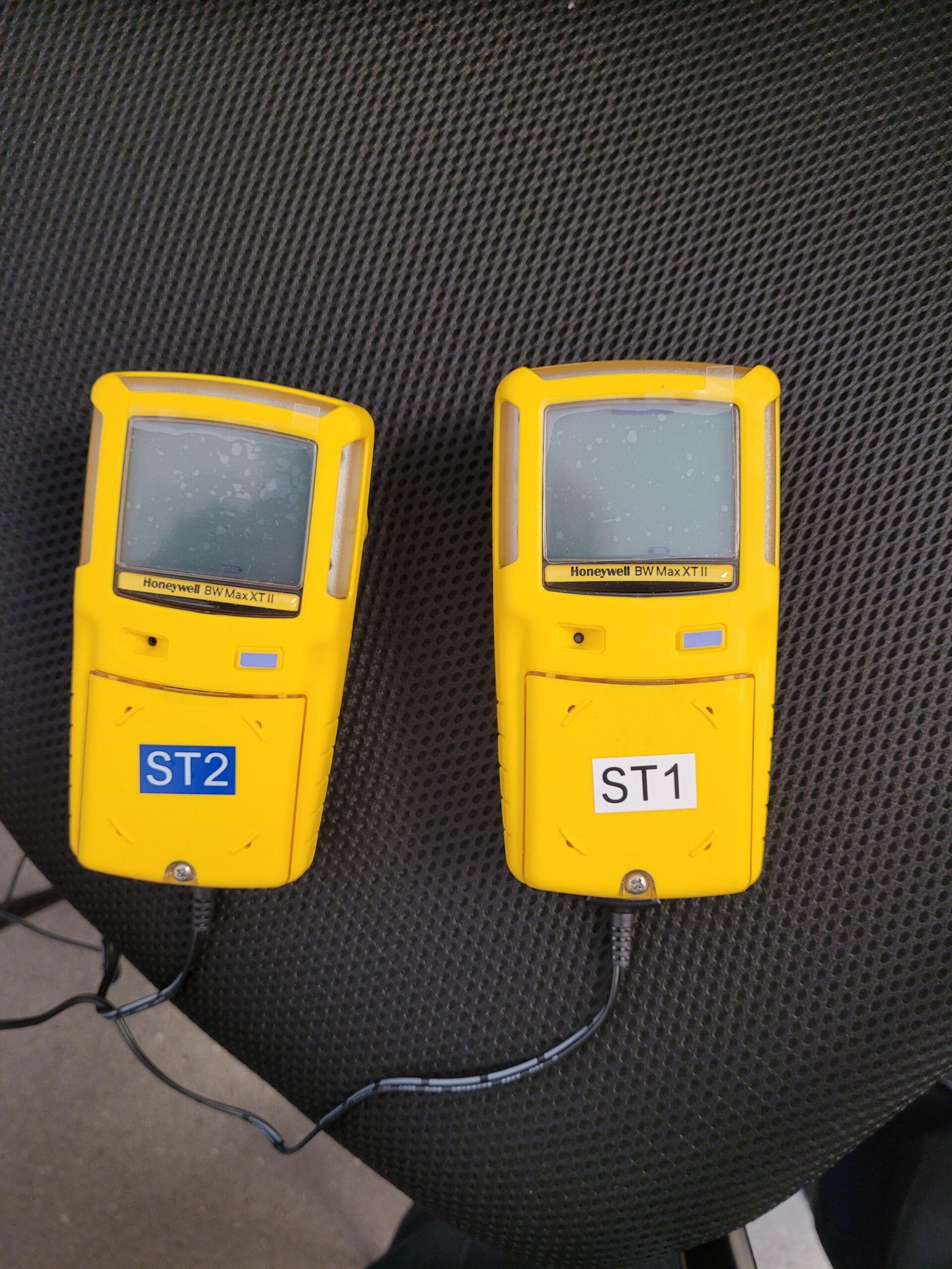 2 gas meters