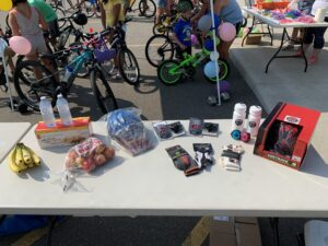 safe cycling event prizes