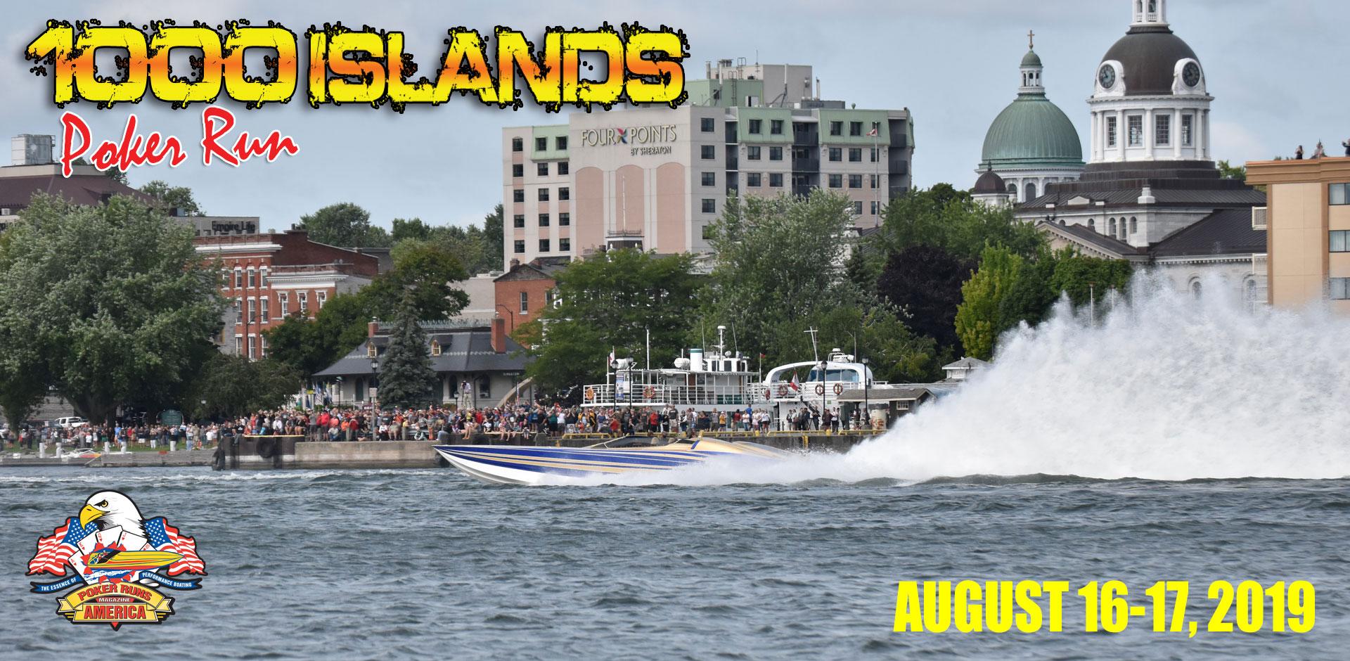 1000 Islands Poker Run @ St. Lawrence River