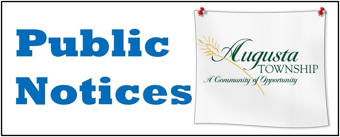 says public notices with augusta logo