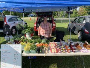 Farmer's Market Booth: Q + S Farms
