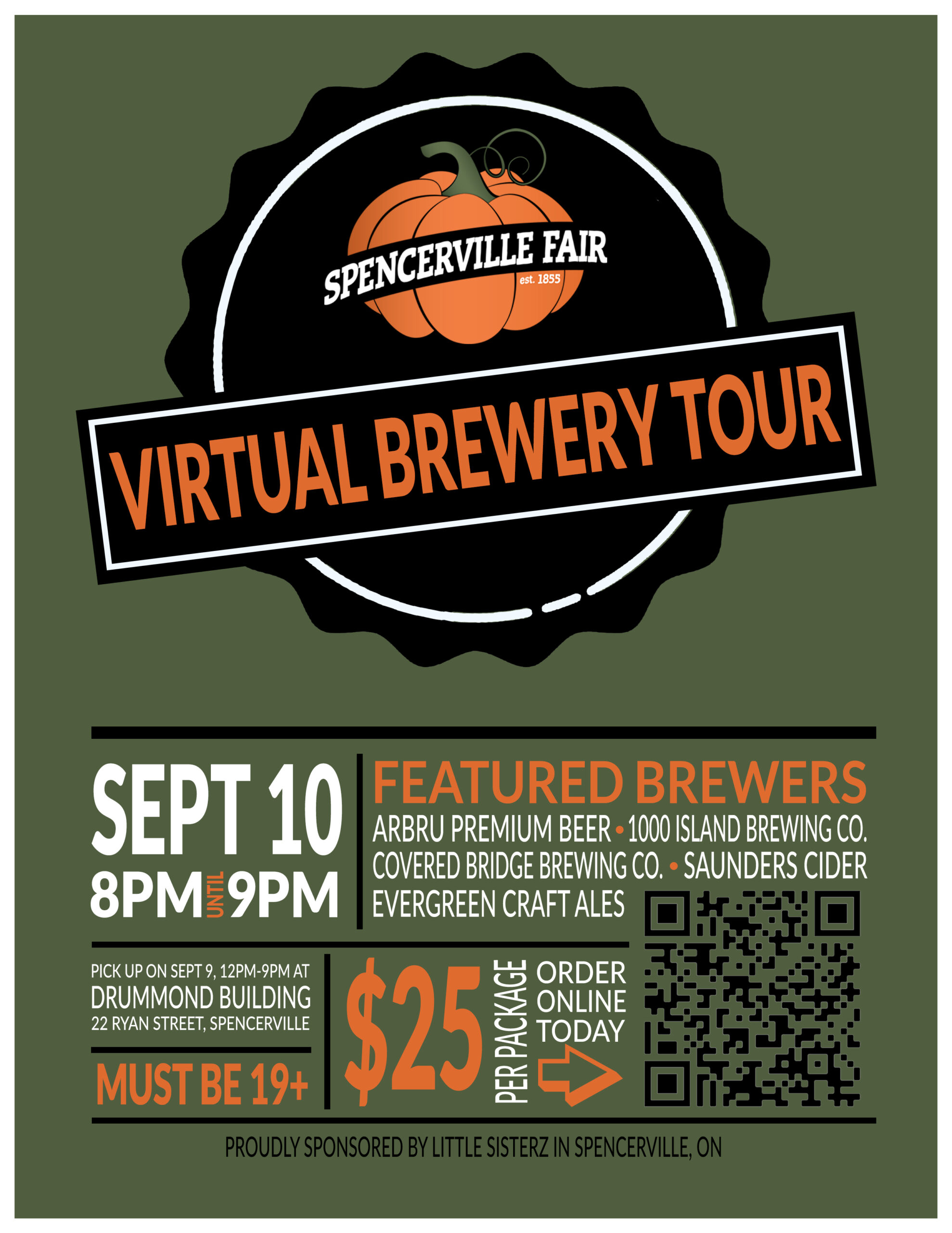 Spencerville Fair Virtual Brewery Tour @ Virtual