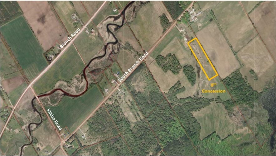 8th Concession property map