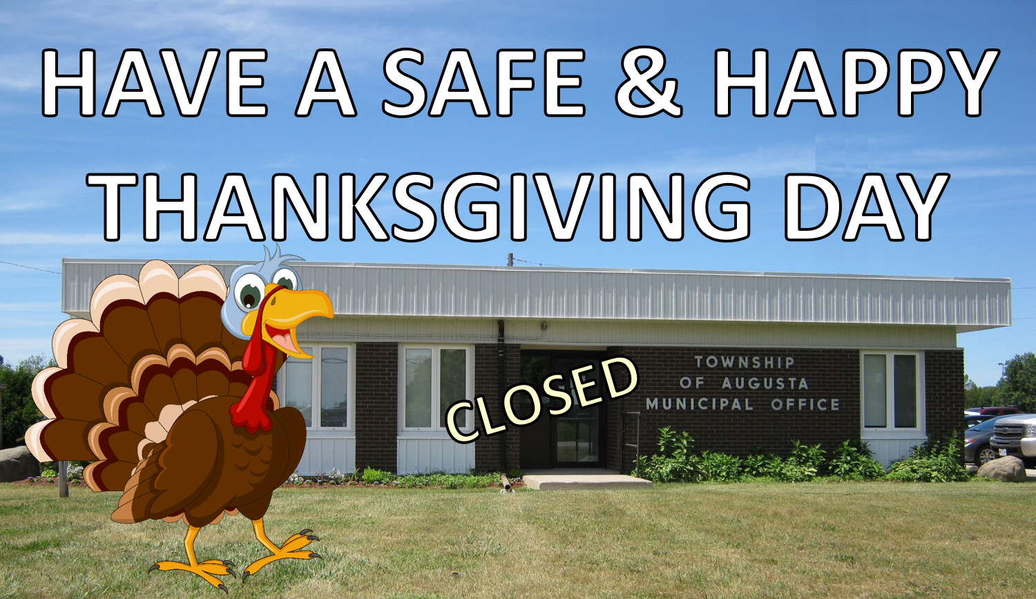 Thanksgiving - Township Office, Library & Transfer Stations CLOSED