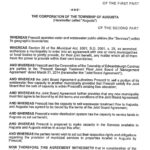 Servicing Agreement between Prescott and Augusta Page 01