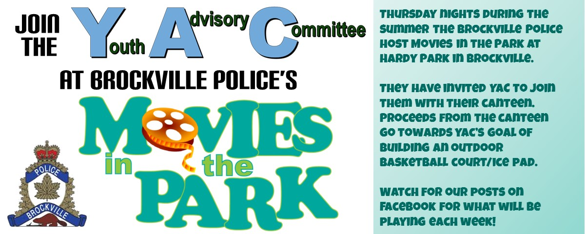 Movies in the Park @ Hardy Park, Brockville | Brockville | Ontario | Canada