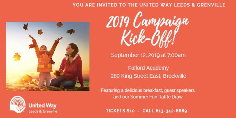 United Way Campaign Kickoff Breakfast @ Fulford Academy | Brockville | Ontario | Canada
