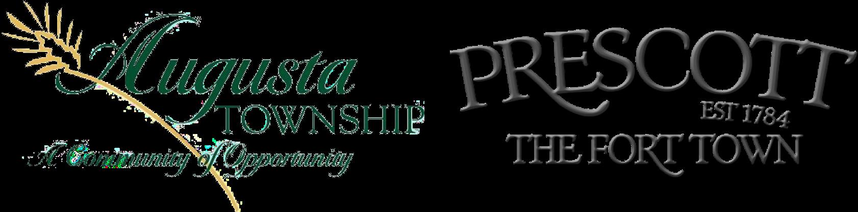 augusta logo & prescott logo
