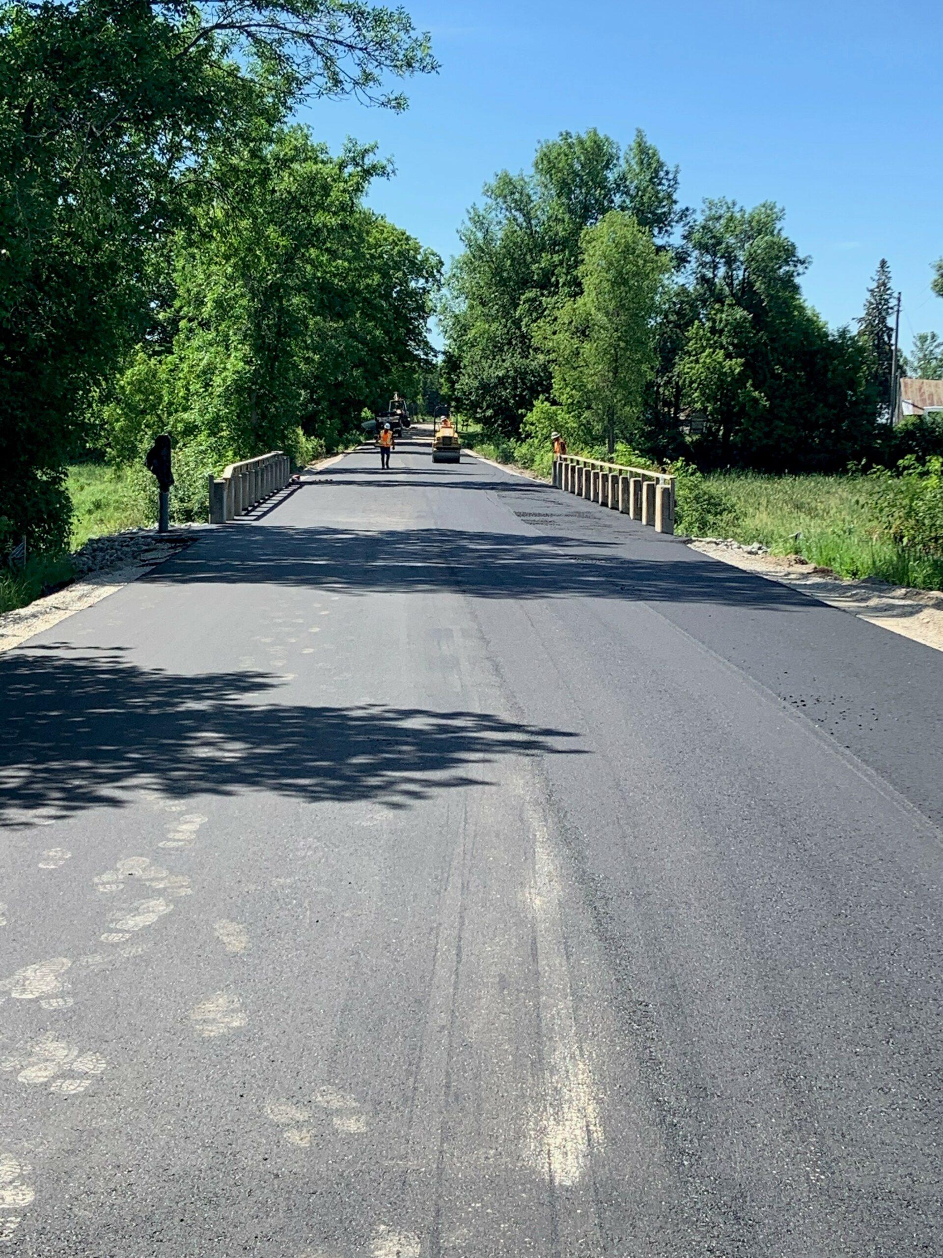 Kyle Road Bridge repairs
