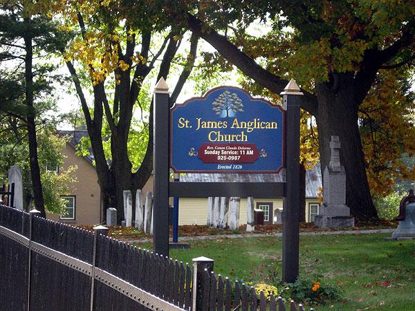 Maitland church sign