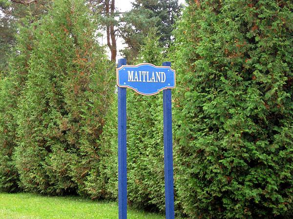 Maitland sign